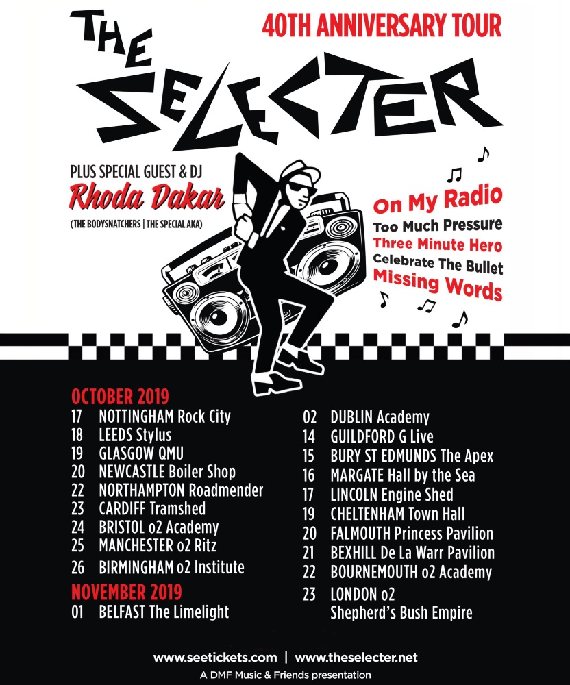 The Selecter - 40th Anniversary Tour - 23 November 2019 - O2